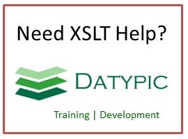 Datypic XSLT Services